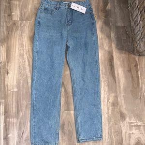Princess polly mom jeans 💙 NWT